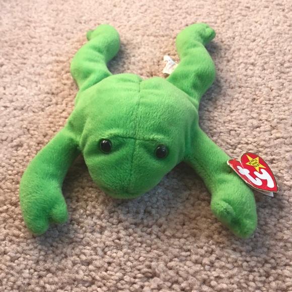 Frog Beanie Buddy Backpack